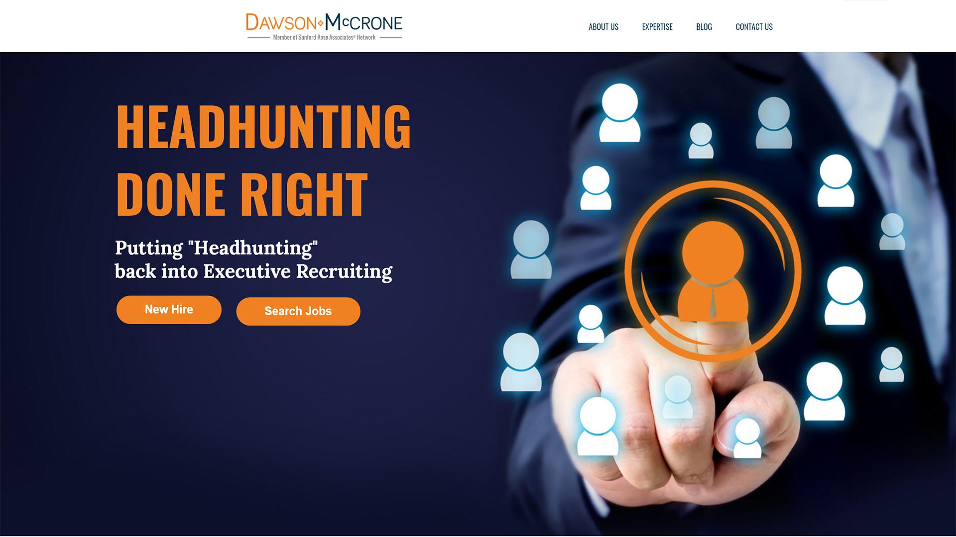 Dawson McCrone Website